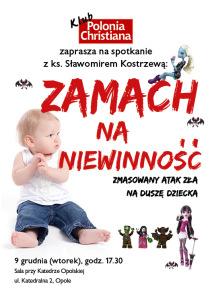 plakat A3_kostrzewa_niewinnosc Opole